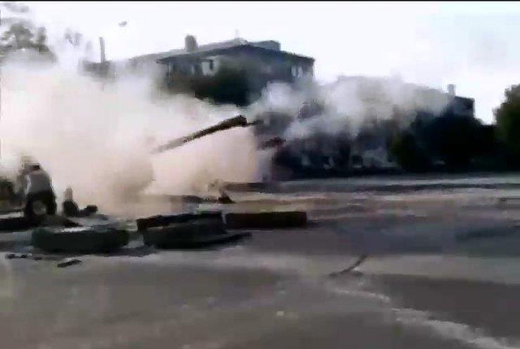 Терористи штурмували блокпости під Слов'яносербськом