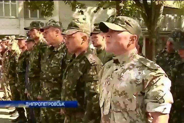 У Дніпропетровськ повернулися десантники з зони бойових дій (відео)