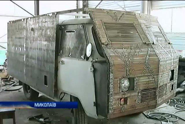 В Миколаєві волонтери бронюють машини швидкої допомоги для зони АТО