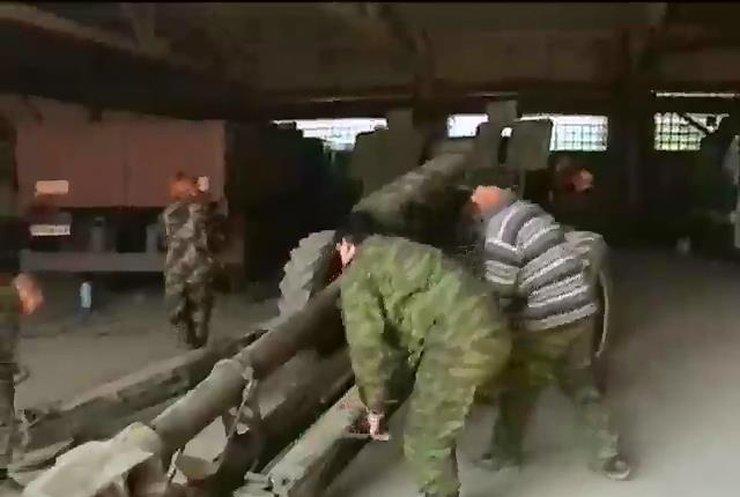 Військові відбили атаку 50-ти терористів поблизу Богданівки