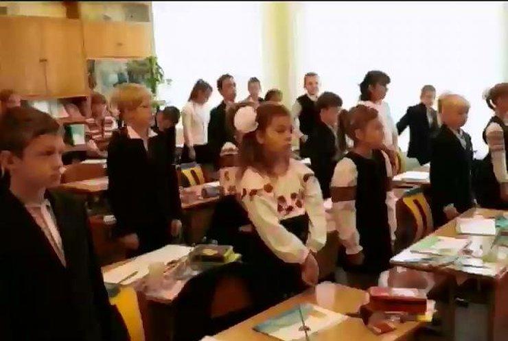 У Києві школярі зібрали 17 тисяч гривень на допомогу військовим (відео)