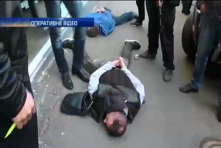 Міліція затримала у центрі Києва трьох бандитів з Волині