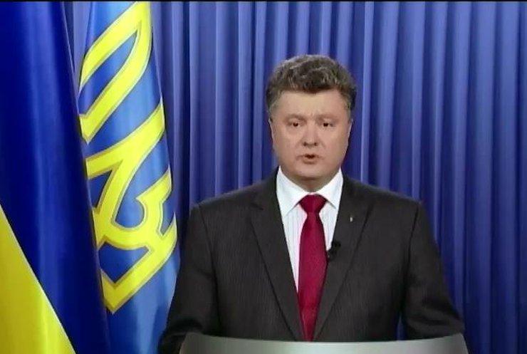Порошенко пыдтримав Яценюка на посаду прем'єра