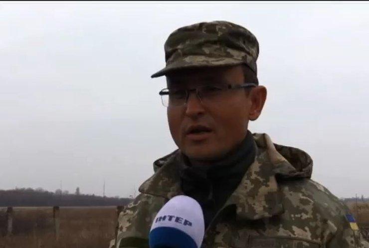 Біля Кримського на фугасі підірвався БТР військових