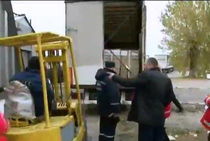 Фермери з Сумщини передали в зону АТО 13 тонн харчів