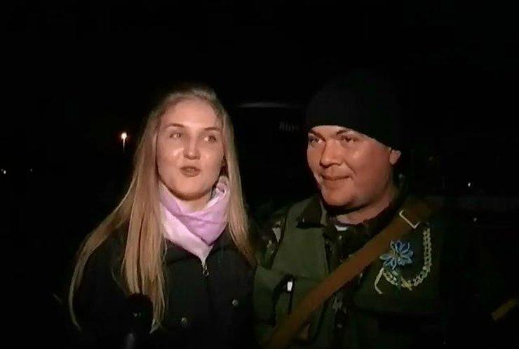 Суми оплесками зустріли міліціонерів з Донбасу