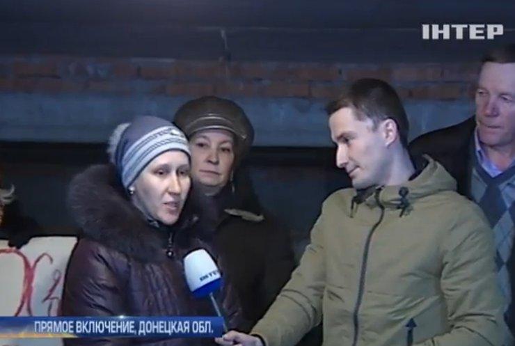 Жители Дебальцево живут 5 месяцев в подвалах (видео)