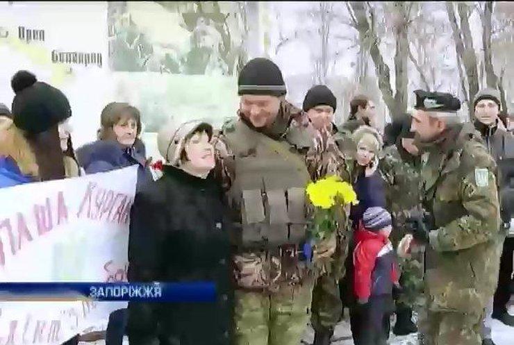 """До Запоріжжя повернулися артилеристи-""""невидимки"""""""