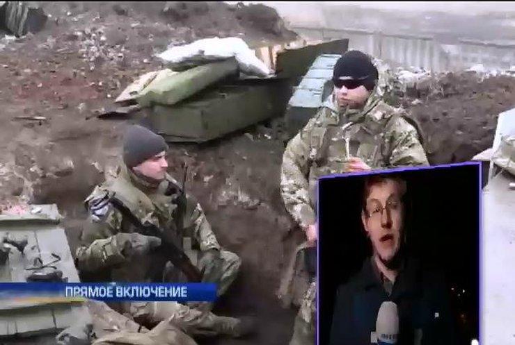 Террористы провоцируют военных на открытие огня