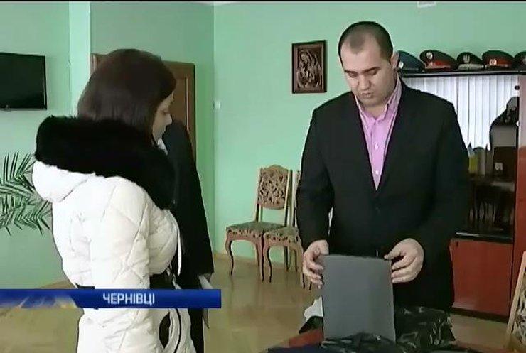 Міліція Чернівців покарає чиновників за підробні бронежилети