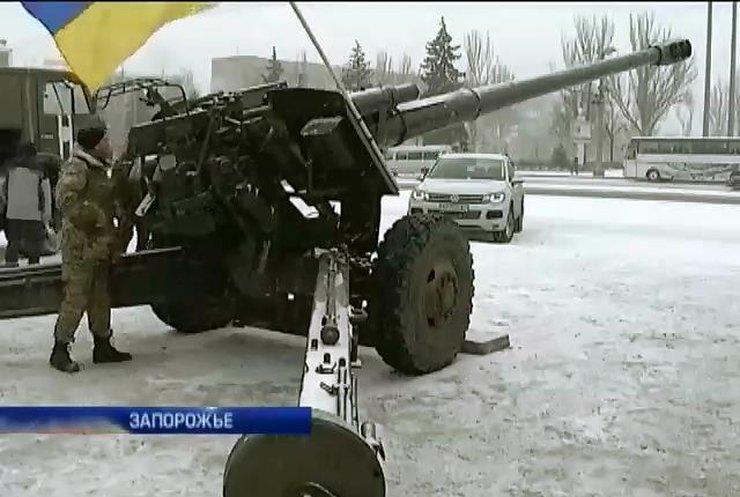 """Артиллеристы-""""невидимки"""" возвращаются на Донбасс"""