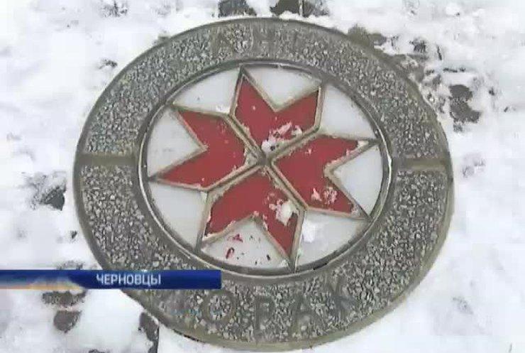 В Черновцах хотят демонтировать звезду Лорак на Аллее Славы