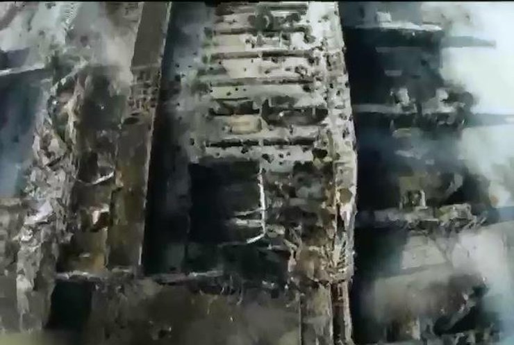 Оборона аэропорта Донецка закончилась с падением стен