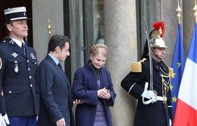 Завершение встречи с президентом Франции