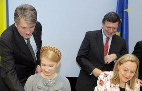 Ющенко, Тимошенко и Баррозу, Ферреро-Вальднер