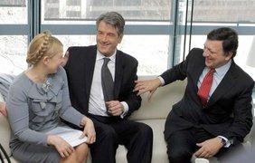 Тимошенко, Юшенко и Жозе Мануэль Баррозу