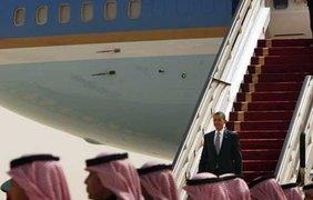 Барак Обама прилетел в Саудовскую Аравию