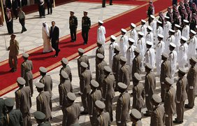 Саудовская Аравия встречает американского президента