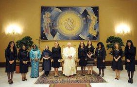 И встречались с папой римским