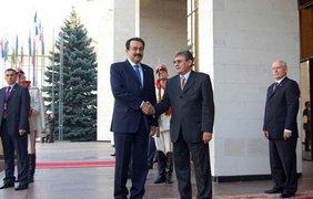 Премьер-министр Казахстана Карим Масимов и Михай Гимпу