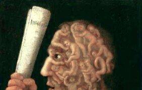 ... и ее нравственный оппонент (1578. Частная коллекция, Базель)