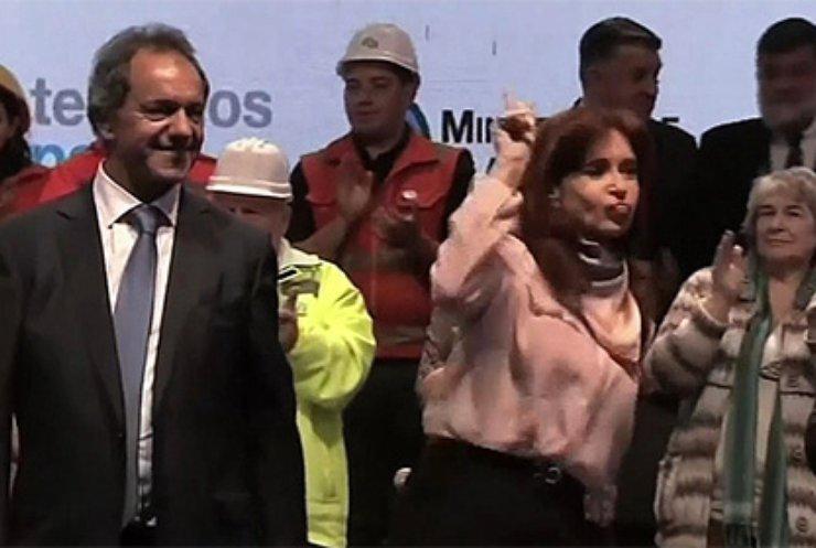 Президент Аргентини станцювала на передвиборчої акції (відео)
