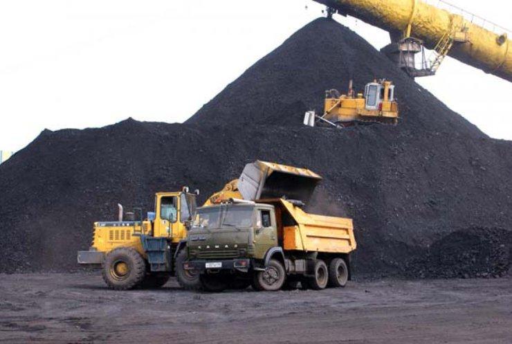В Украине угля осталось на 45 дней