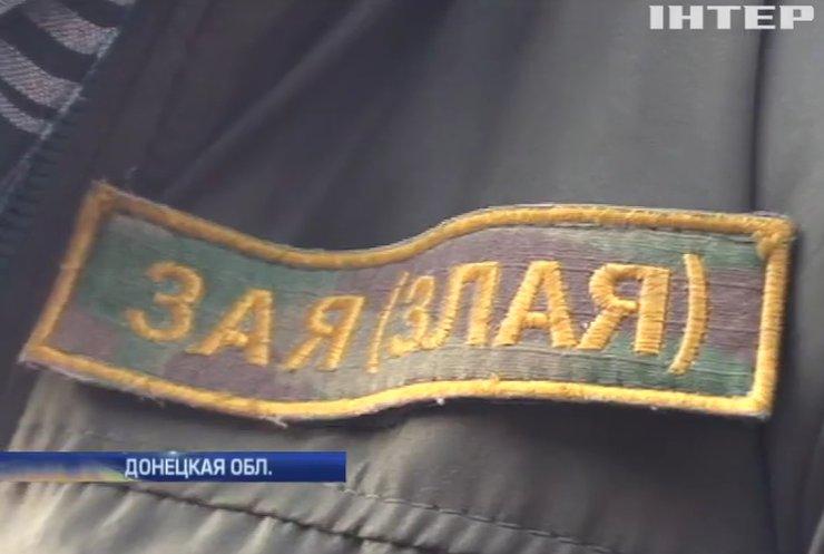 """Под Донецком оборону держит """"Злая"""" девушка-волонтер"""