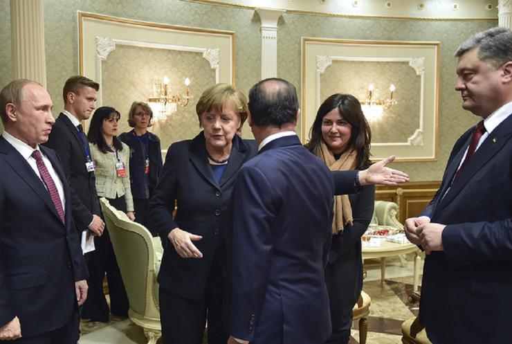 В Минске прекращение огня выбивали всей Европой