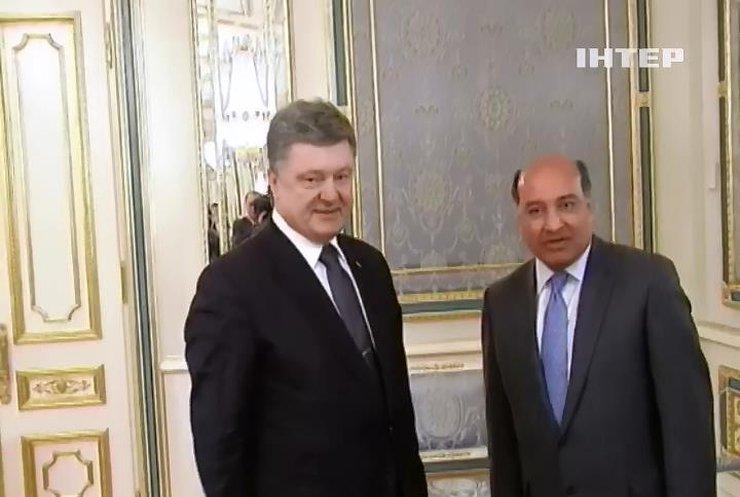 Петр Порошенко встретился с президентом Евробанка