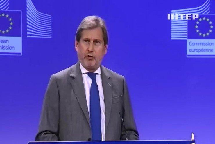 У Євросоюзі наполягають на дипломатичному вирішенні ситуації на Донбасі