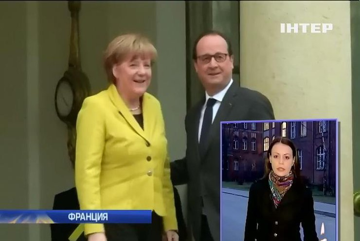 Меркель и Олланд готовы к новым санкциям против России