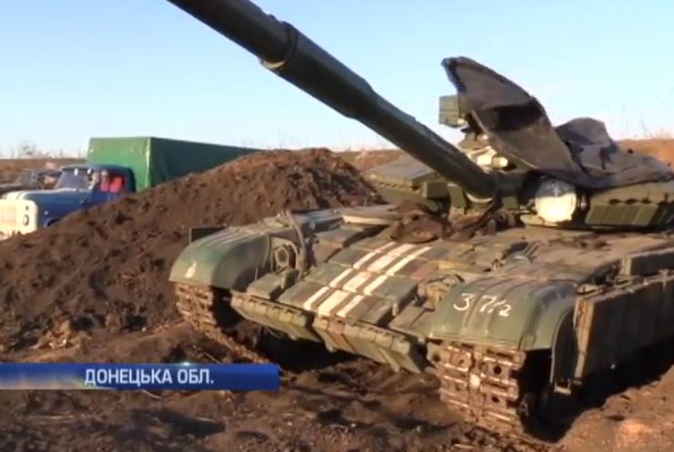 На Донеччині обмежать рух бойової техніки