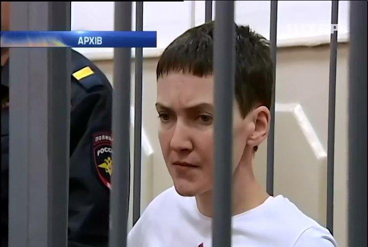 Лікарі з Німеччини пророкують Надії Савченко тиждень життя