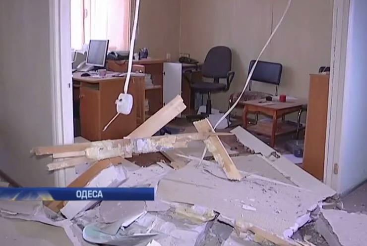 Вибух в Одесі міліція кваліфікувала як теракт