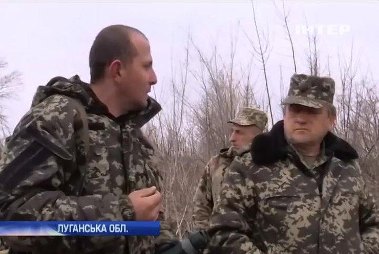 На Луганщині чекають на наступ терористів