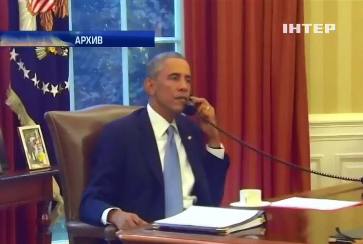 Барак Обама обсудил ситуацию в Украине с лидерами Европы