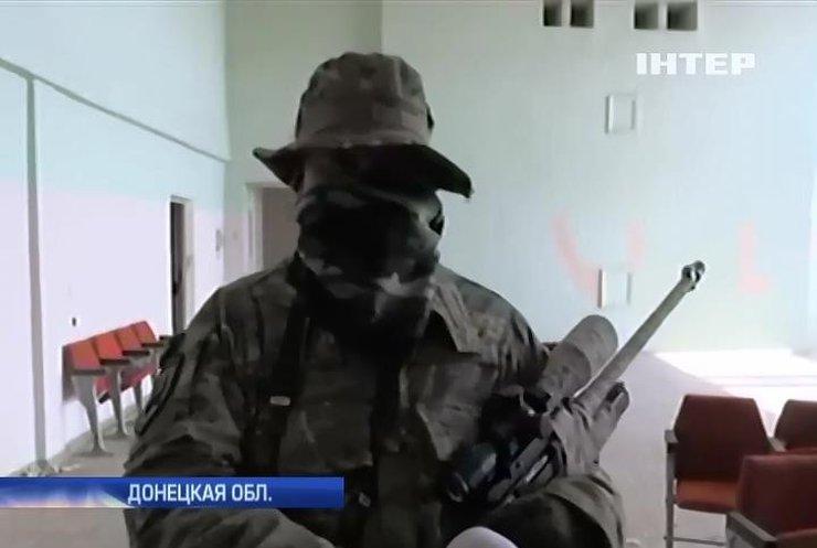 """Позиции снайперов в Широкино посетили журналисты """"Подробностей"""""""