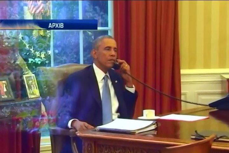 Обама обговорив санкції проти Росії з лідерами Європи