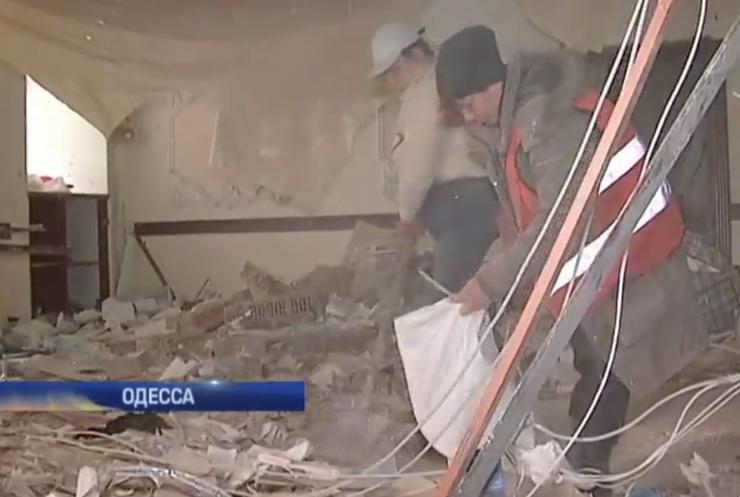 Волонтеров в Одессе могли подорвать по ошибке