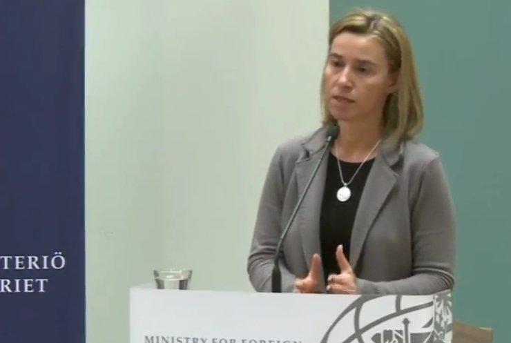 Федеріка Могеріні збільшить спостерігачів ОБСЄ на Донбасі