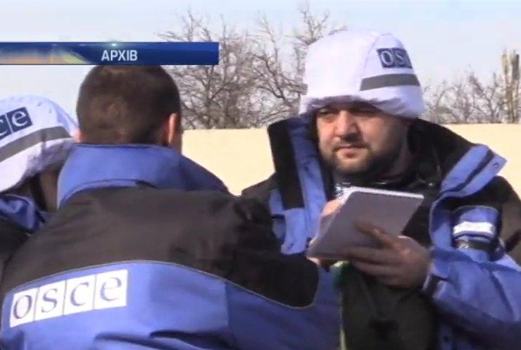 ОБСЄ фіксують постріли та вибухи біля Донецього аеропорту