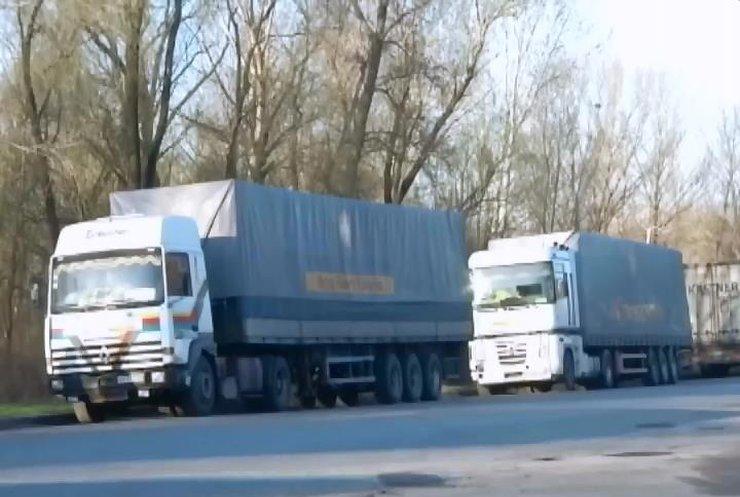 В Донецк отправились 42 грузовика с гуманитаркой