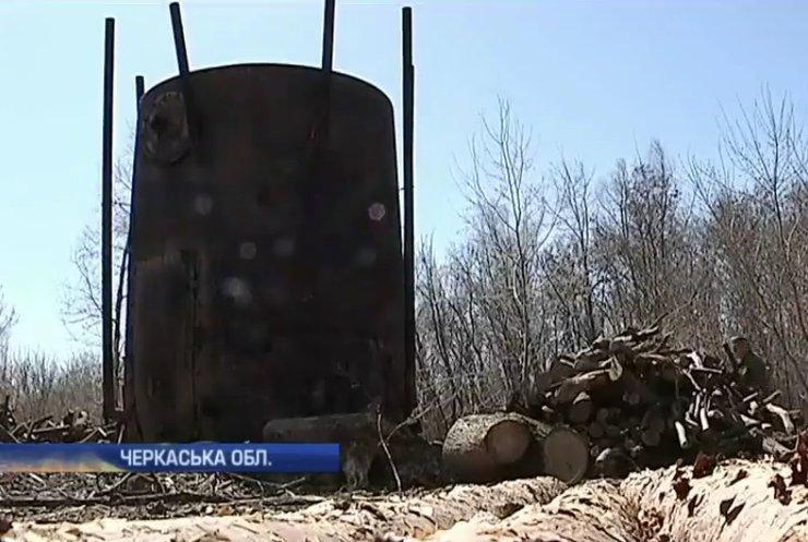 Чорний бізнес на Черкащині 12 років знищує екологію