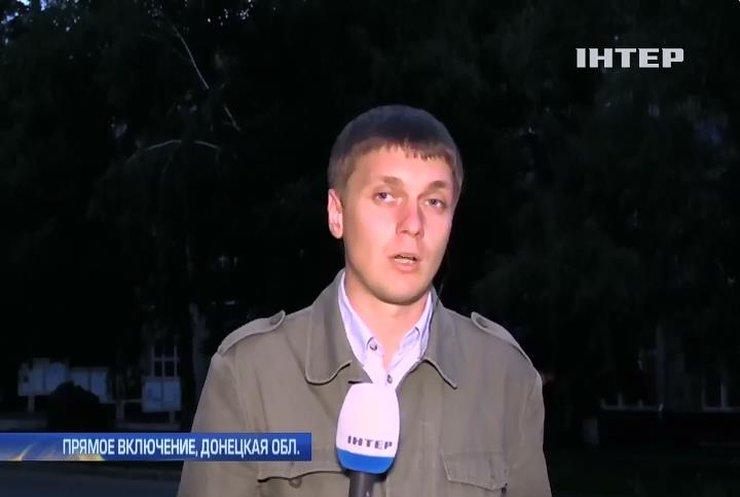 Под Донецком увеличилось количество обстрелов