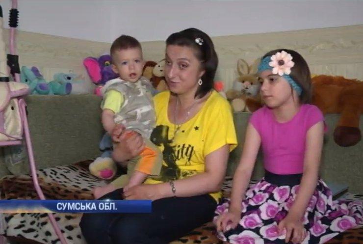На Сумщині родину військовослужбовця хочуть позбавити батьківських прав