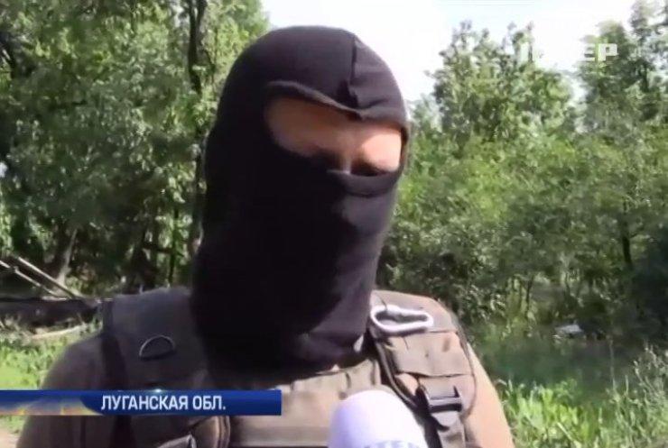 В районе Луганска отбили атаку бронетехники противника