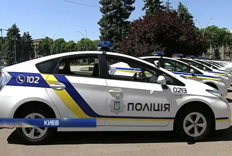 Япония подарила новой украинской милиции 1,5 тыс. автомобилей (видео)