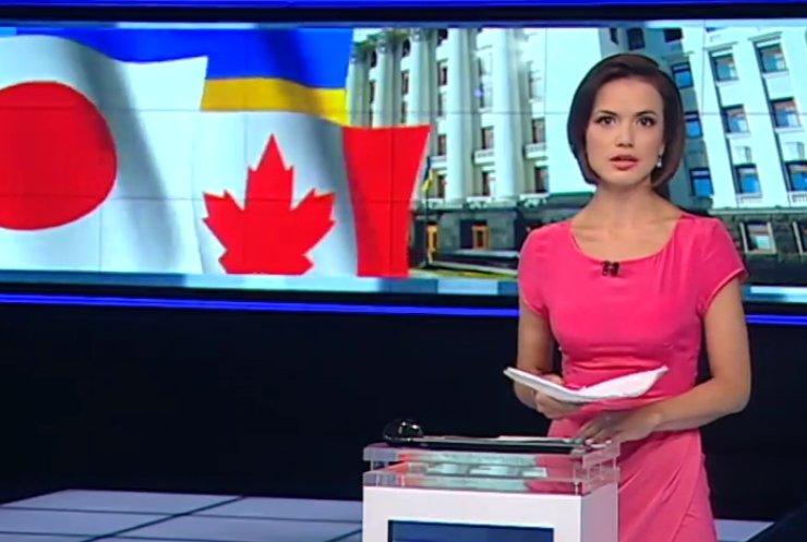 Прем'єри із Японії та Канади у Києві обговорять агресію Росії