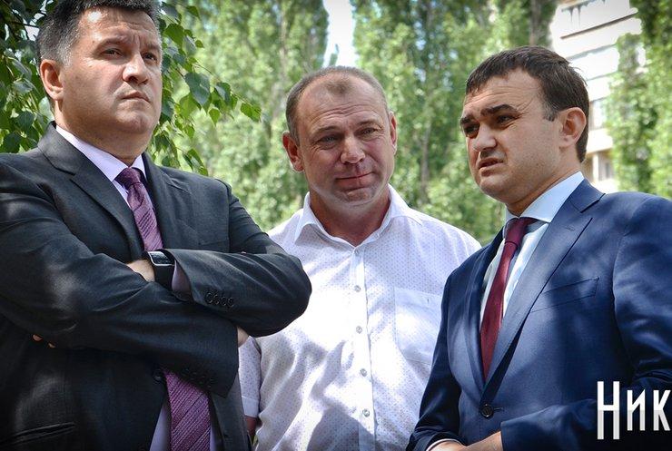 Арсен Аваков ліквідував ДАІ в Миколаївській області